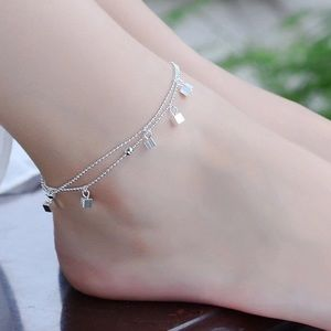 Anklet Chain Sterling Silver 925